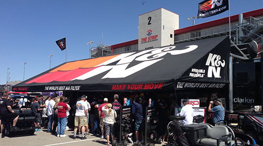Holiday Motorsports Awnings Frame Styles Cantilever