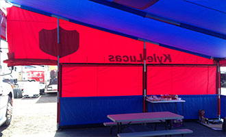Holiday Industries Motorsports Awnings